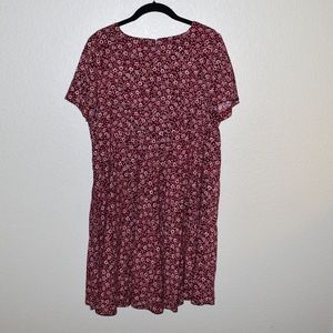 Dresses & Skirts - Cute Red Floral Summer Dress